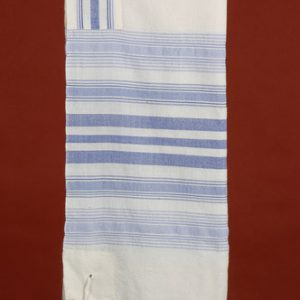 Blue Tallit - Classic with Shades of Blue
