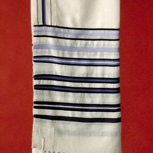 Enlarge Image Bnai-Or Tallit in Blues