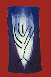 Menorah Torah Mantle